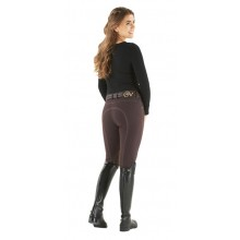 Ovation® Ladies' Euro Jean Zip Front Knee Patch Breeches