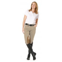 Ovation® Taylored Side-Zip Euro Seat DX Knee Patch Breeches