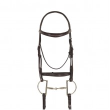 Ovation® Breed Fancy Stitched Raised Padded Bridle- Quarter Horse
