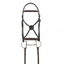 Ovation® ATS Equalizer Round Raised Fancy Stitch Bridle