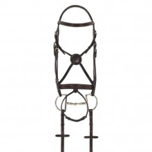 Ovation® ATS Equalizer Round Raised Bridle with Flash