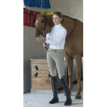 Ovation® EuroWeave™ Side Zip Knee Patch Breech - Child's