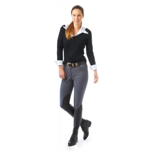 Ovation® Eurolite Brighton DX® Euroseat Knee Patch Breech - Ladies'