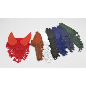 Tassle Crochet Ear Net