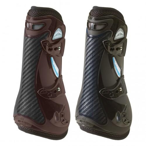Details about  /Veredus STS Carbon Gel Vento Open Front Tendon Boots Free UK Post