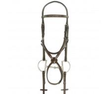 Pessoa® PRO Fancy Stitched Figure-8 Bridle