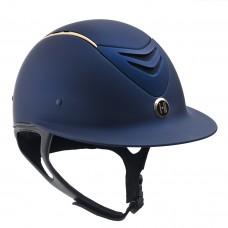 One K™ Defender AVANCE Wide Brim Rose Gold Stripe Helmet