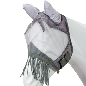 Got Flies?® Fine Mesh Fly Mask with Fringe